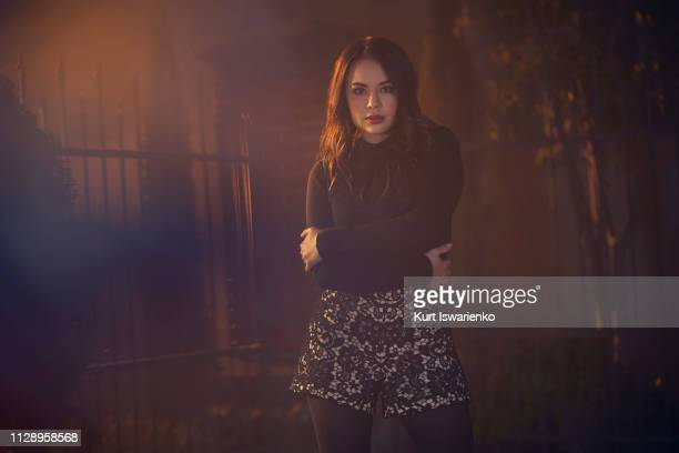 """Freeform's """"Pretty Little Liars: The Perfectionists"""" stars Janel Parrish as Mona."""
