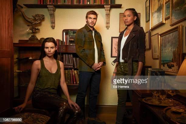 SIREN Freeform's Siren stars Eline Powell as Ryn Alex Roe as Ben Pownall and Fola EvansAkingbola as Maddie Bishop