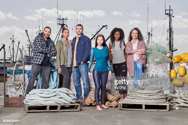 SIREN Freeform's 'Siren' stars Ian Verdun as Xander Fola EvansAkingbola as Maddie Alex Roe as Ben Eline Powell as Ryn Sibongile Mlambo as Donna and...