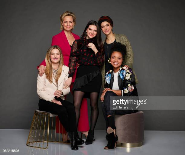 TYPE Freeform's The Bold Type stars Meghann Fahy as Sutton Brady Melora Hardin as Jacqueline Carlyle Katie Stevens as Jane Sloan Nikohl Boosheri as...