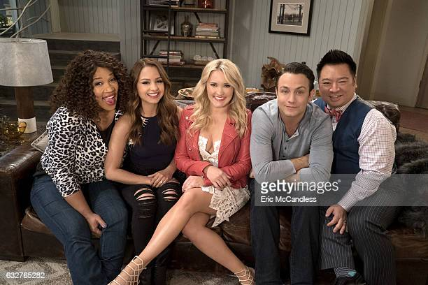 YOUNG HUNGRY Freeform's Young Hungry stars Kym Whitley as Yolanda Aimee Carrero as Sofia Rodriguez Emily Osment as Gabi Diamond Jonathan Sadowski as...