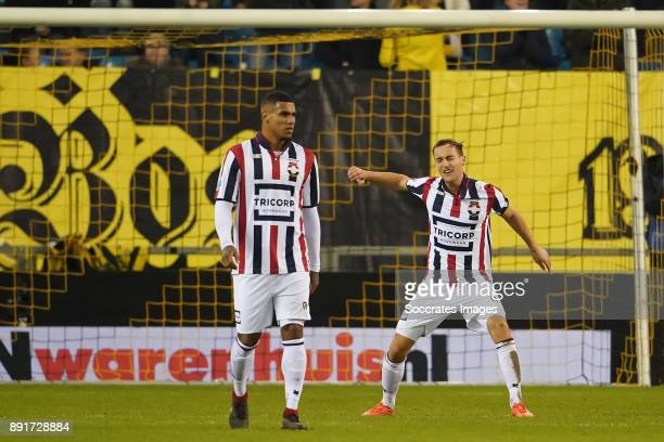 Freek Heerkens of Willem II during the Dutch Eredivisie match between Vitesse v Willem II at the GelreDome on December 13 2017 in Arnhem Netherlands