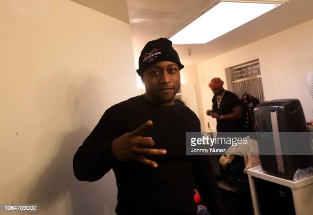 Freekey Zekey backstage at The Apollo Theater on November 23, 2018 in New York City.