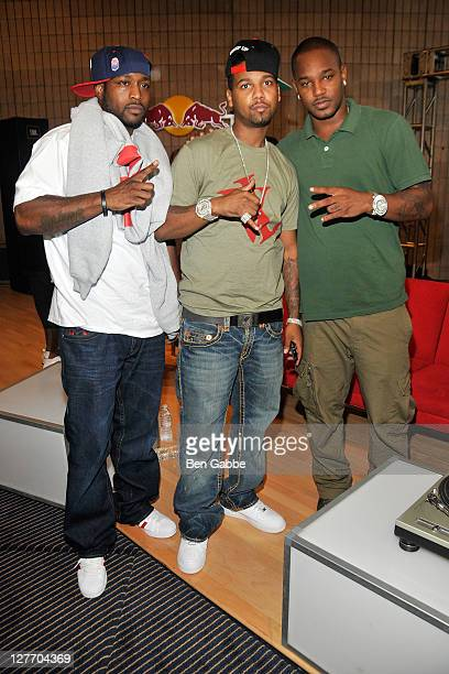 Freekey Zekey Juelz Santana and Cam'ron attend In Conversation with The Diplomats The Making of 'Diplomatic Immunity' at the Harlem School of Arts on...