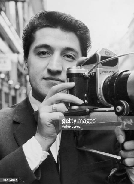 Freelance photographer Ray Bellisario, 7th January 1963, after a court summons was issued against him for taking unauthorized pictures of the Queen...