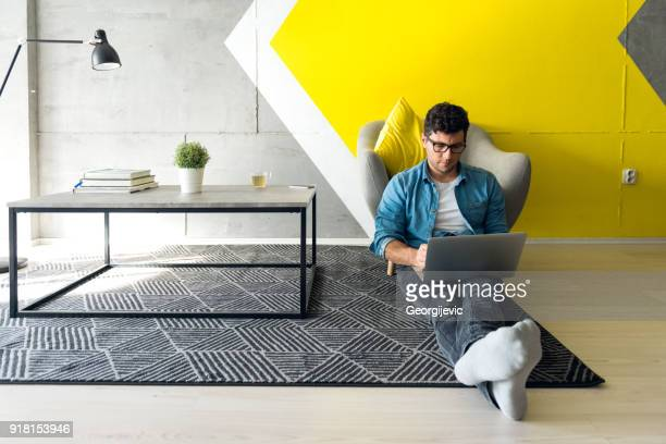 freelancer - yellow stock pictures, royalty-free photos & images