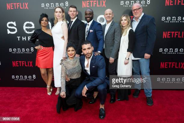 Freema Agyema Jamie Clayton Brian J Smith Toby Onwumere Peter Friedlander Laura Delahaye and Grant Hill and Tina Desai and Miguel Ángel Silvestre...