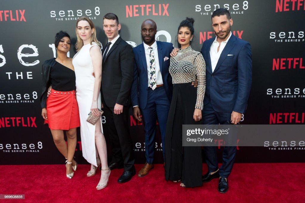 """Netflix's """"Sense8"""" Series Finale Fan Screening : News Photo"""
