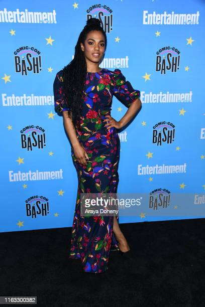 Freema Agyeman at the Entertainment Weekly ComicCon Celebration at Float at Hard Rock Hotel San Diego on July 20 2019 in San Diego California