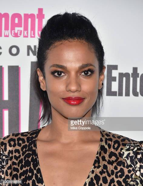 Freema Agyeman attends Entertainment Weekly's ComicCon Bash held at FLOAT Hard Rock Hotel San Diego on July 21 2018 in San Diego California sponsored...