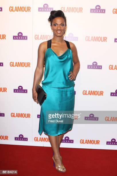 Freema Agyeman attends 'Glamour Women of the Year Awards' at Berkeley Square Gardens on June 2 2009 in London England