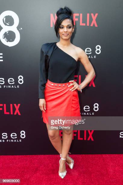 Freema Agyeman attends Netflix's Sense8 Series Finale Fan Screening at ArcLight Hollywood on June 7 2018 in Hollywood California