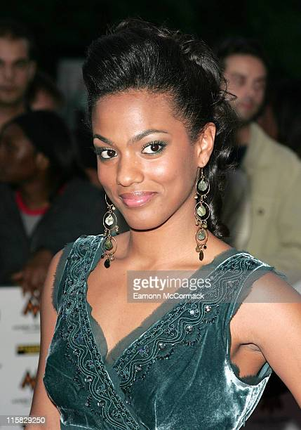 Freema Agyeman during MOBO Awards 2006 Outside Arrivals in London Great Britain