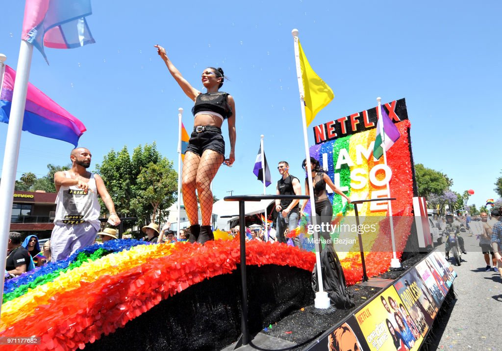 "Netflix Original Series ""Sense8"" Cast At Los Angeles Pride Parade"