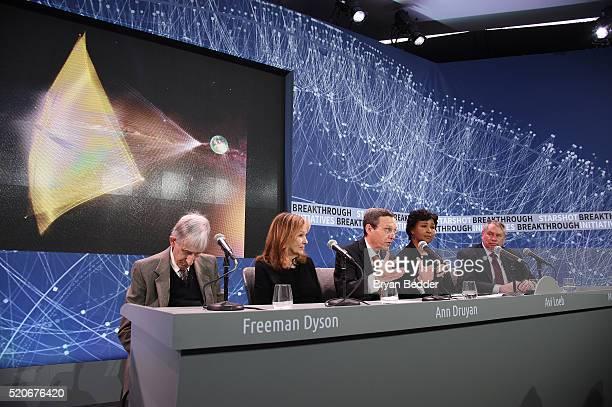 Freeman Dyson Emeritus Professor Princeton Institute for Advanced Study Ann Druyan Producer CoFounder and CEO of Cosmos Studios Avi Loeb Frank B...