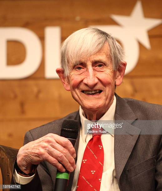 Freeman Dyson speaks during the Digital Life Design conference at HVB Forum on January 22 2012 in Munich Germany DLD is a global conference network...