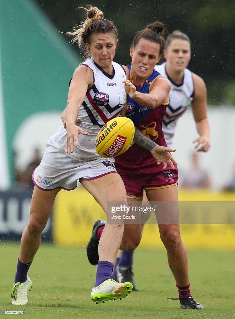 AFLW Rd 4 - Brisbane v Fremantle