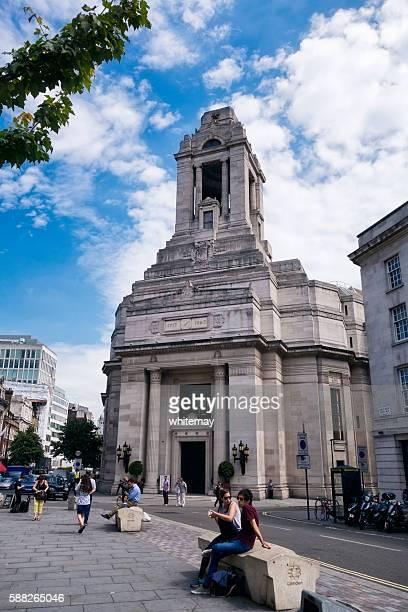freemasons' hall, london - freemasons stock pictures, royalty-free photos & images