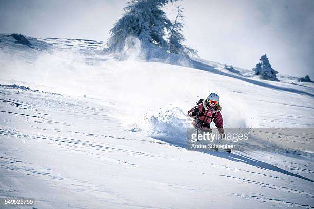 Freeriding in the Austrian Alps
