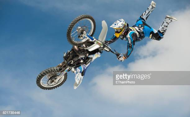 freestyle moto cross fmx - freestyle stock pictures, royalty-free photos & images