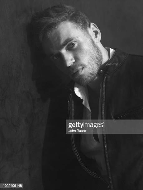 Freestyle skier Gus Kenworthy is photographed for GIO Journal on November 16, 2017 in Los Angeles, California.