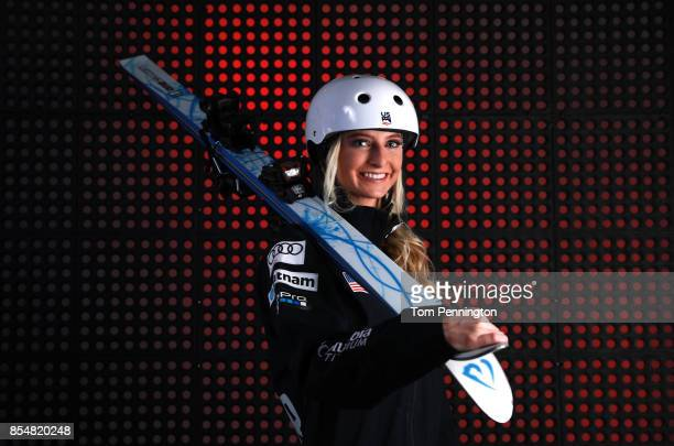 Freestyle Skier Kiley McKinnon poses for a portrait during the Team USA Media Summit ahead of the PyeongChang 2018 Olympic Winter Games on September...
