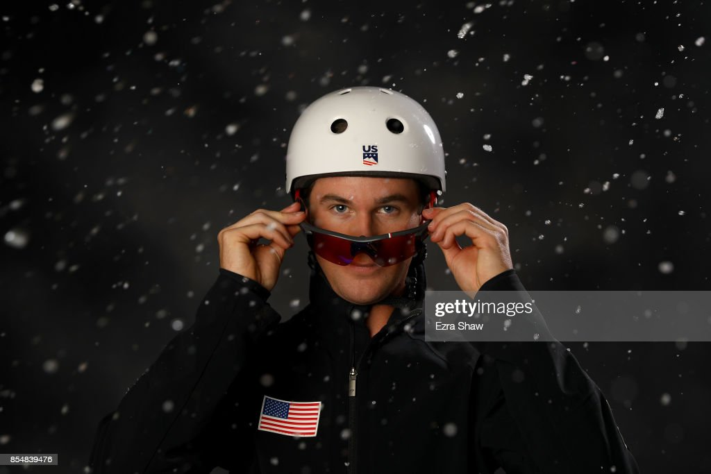 Freestyle Skier Mac Bohonnon poses for a portrait during the Team USA Media Summit ahead of the PyeongChang 2018 Olympic Winter Games on September 27, 2017 in Park City, Utah.