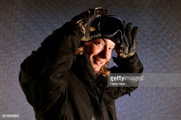 Freestyle skier poses for a portrait during the Team USA PyeongChang 2018 Winter Olympics portraits on April 25, 2017 in West Hollywood, California.