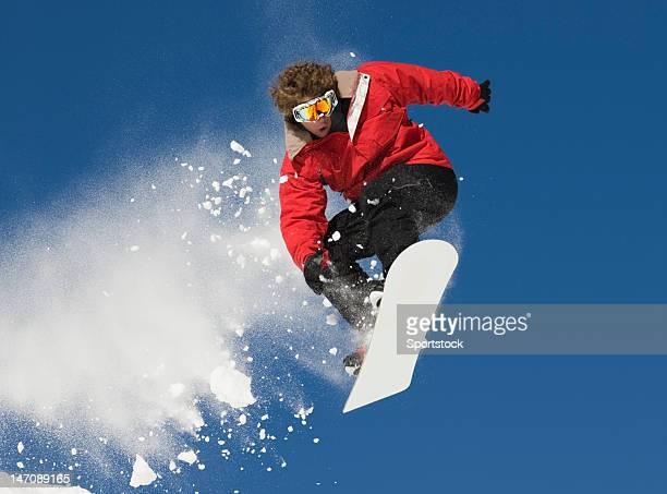Freestyle スノーボードジャンプ