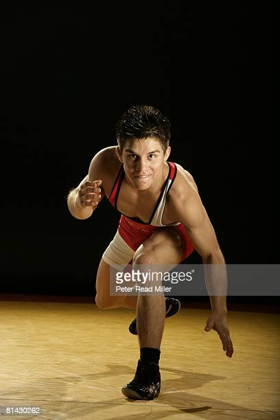 Freestyle Wrestling: Portrait of 121lb class Henry Cejudo at Olympic Training Center, Colorado Springs, CO 5/29/2007