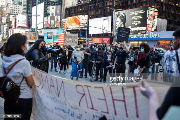 FreeThemAllFridaysactivists protest at the headquarters of the Thompson Reuters news agency for contracting with the Immigration and Customs...