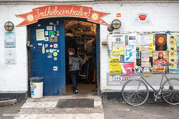 Freetown Christiania Indkøbscentralen grocery store