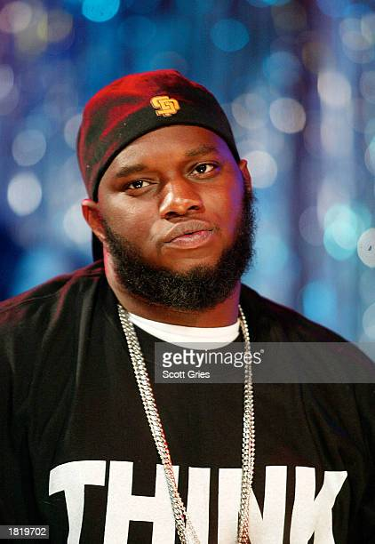 Freeway appears on MTV's Direct Effect at the MTV studios February 27 2003 in New York City