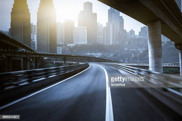 freeway structure,view of overpass in chongqing - flyover stock pictures, royalty-free photos & images