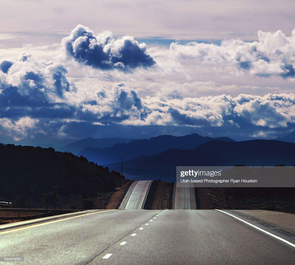 Freeway To Heaven Stock Foto