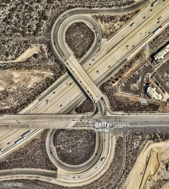 Freeways. Los Angeles, California