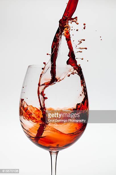 Freezed wine