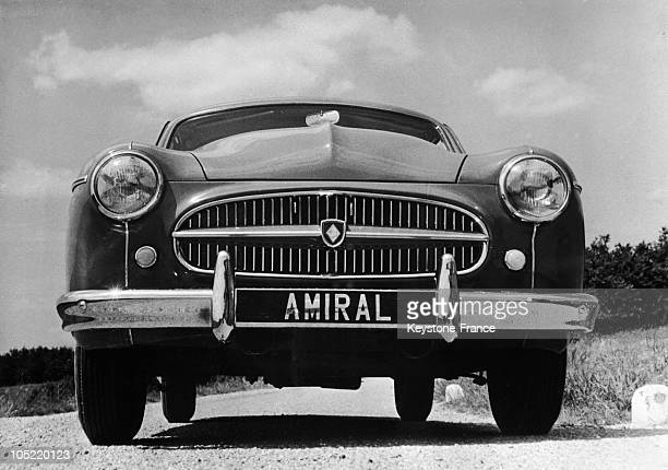 Fregate Amiral Car With A New Radiator Grill Which Would Be Shown On The Car Show 19540916