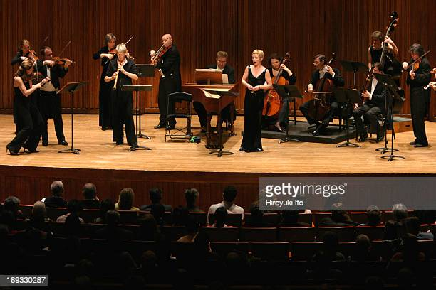 Freiburg Baroque Orchestra performing at Alice Tully Hall on Sunday afternoon February 6 2005Bach's Weichet nur betrubte Schatten performed...