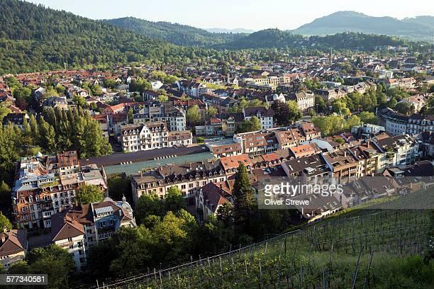 Freiburg from Schlossberg