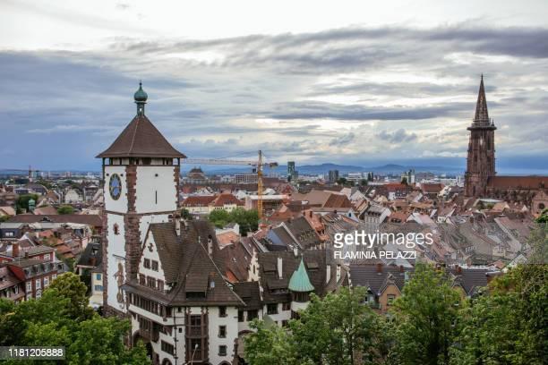 freiburg im breisgau, germany - bade wurtemberg photos et images de collection