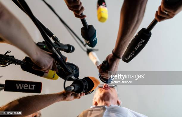Prosecutor Nikola Novak gives an interview after the verdict In the trial of the heavily abused boy from Staufen who was sold to other men the...