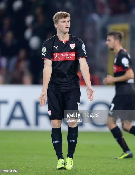 FUSSBALL DFB SC Freiburg VfB Stuttgart Timo Werner
