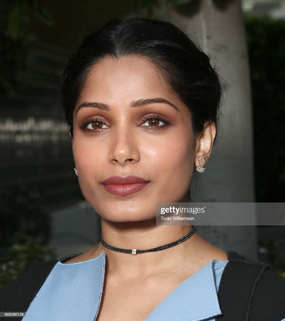 Freida Pinto attends the UCLA Institute Of The Environment And Sustainability Celebrates Innovators For A Healthy Planet on March 13, 2017 in Beverly Hills, California.