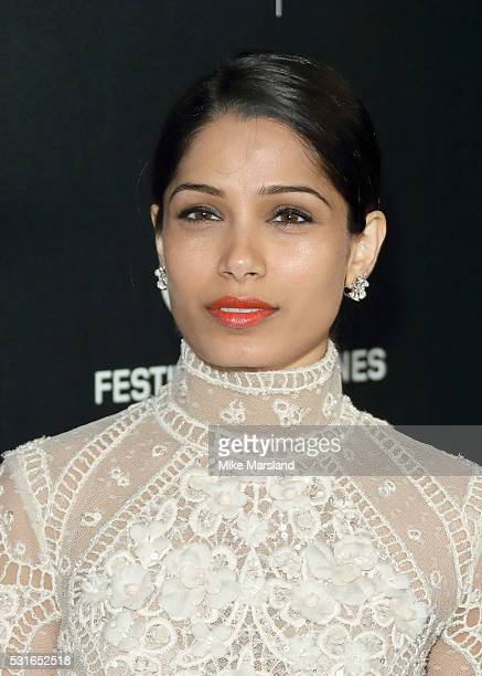 """Freida Pinto attends the """"Women in Motion"""" Prize Reception part of The 69th Annual Cannes Film Festival on May 15, 2016 in Cannes, France."""