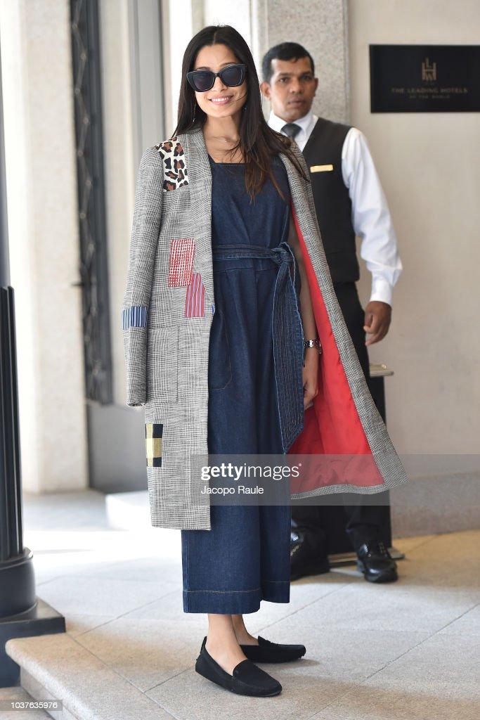 Celebrity Sightings: September 22 - Milan Fashion Week Spring/Summer 2019