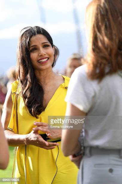 Freida Pinto recipient of the Shining Star Award attends 'Taste of Summer' during day one of the 2017 Maui Film Festival At Wailea on June 21 2017 in...