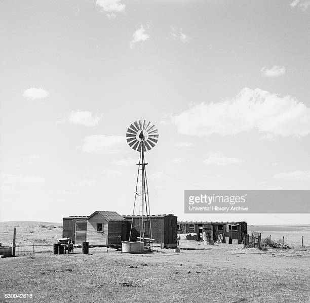 Freight Car Home, Box Butte County, Nebraska, USA, Arthur Rothstein for Farm Security Administration , May 1936.