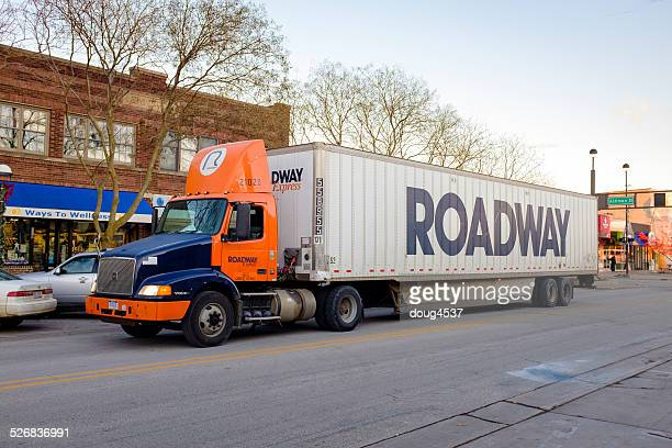 freight delivery - midland michigan stock pictures, royalty-free photos & images