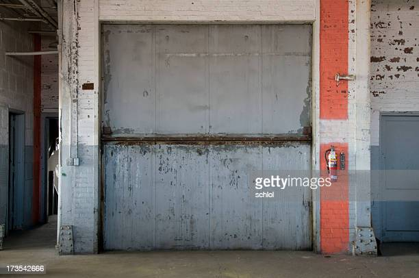 freight elevator - industrial door stock pictures, royalty-free photos & images